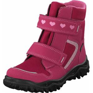 Superfit Husky Gore-tex® Red/pink, Sko, Boots, Varmforet boots, Rosa, Unisex, 20