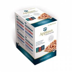 Applaws Cat Fish broth pouch Multi 12*70g