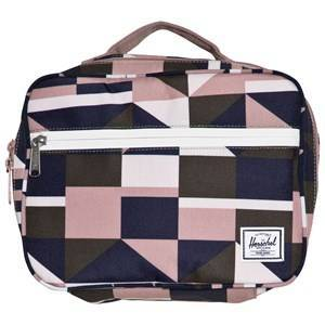Herschel Pop Quiz Lunch Box Frontier Geo/Ash Rose