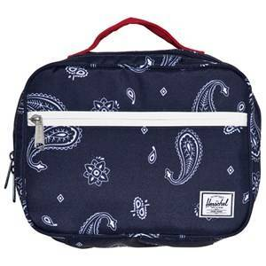 Herschel Pop Quiz Lunch Box Bandana Paisley Peacoat/Barbados Cherry