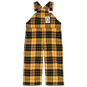The Animals Observatory Tartan Mechanic Overalls Yellow 8 r