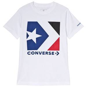 Converse Star Chevron T-Shirt White 12-13 years