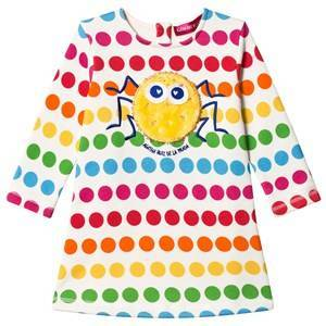 Agatha Ruiz de la Prada Rainbow Dot Spider Dress 12 years