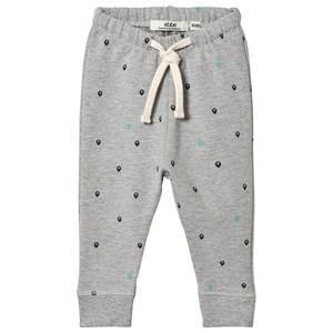 ebbe Kids Grey Map Spots Beam Sweatpants 80 cm (9-12 mnd)