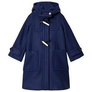 Marni Blue Hooded Duffle Coat 6 years