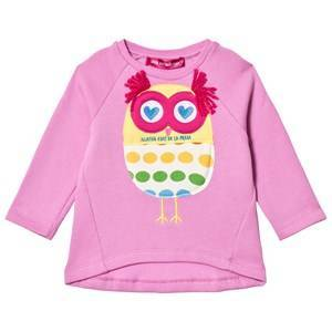 Agatha Ruiz de la Prada Pink Fluffy Owl Sweater 5 years