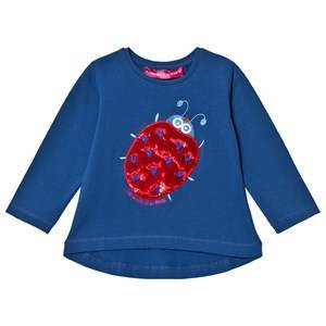 Agatha Ruiz de la Prada Blue & Red Ladybug Tee 5 years