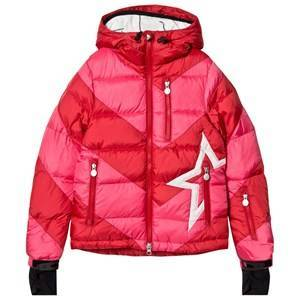 Perfect Moment Red & Pink Super Mojo Ski Jacket 12 years