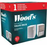Wood's Woods SMF filter 5-pack Skimmel partikelfilter