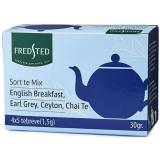Fredsted Te Mix English Breakfast Earl Grey Ceylon Chai