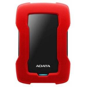 Adata AHD330-5TU31-CRD Adata  5TB Enterprise SSD, 530 MBps, MLC Flash, red