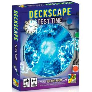 Deckscape Test Time Kortspill