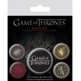 Pyramid Game Of Thrones - Great Houses Pin Badges 5-Pack
