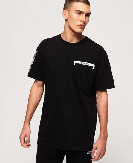 Superdry Black Label Edition Pocket T-Shirt Black