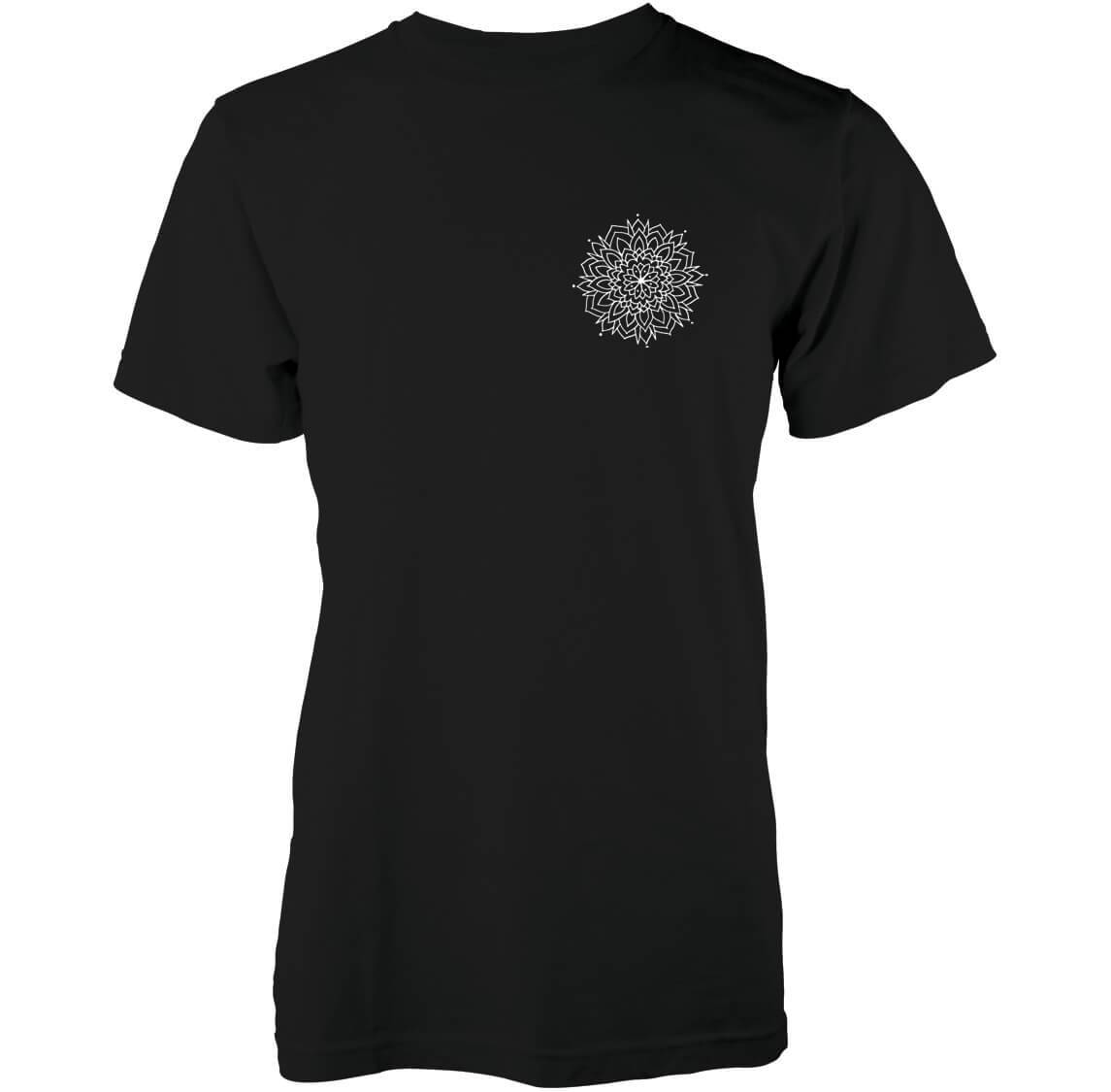 Abandon Ship Men's Snow Mandala T-Shirt - Black - XL - Black