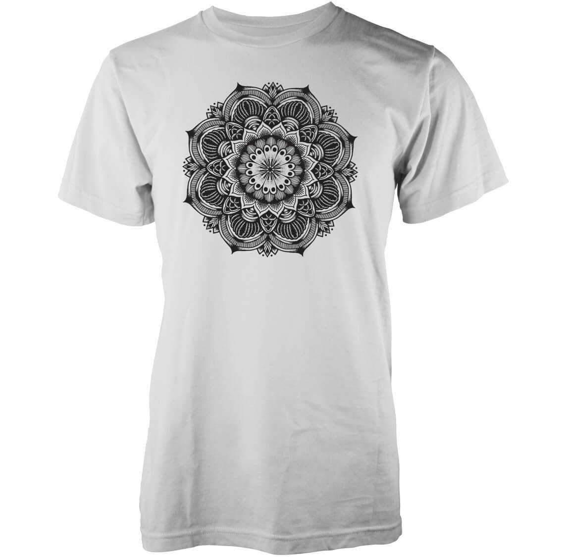Abandon Ship Men's Mandala T-Shirt - White - M - White