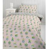 New Look Pink Cactus Single Duvet Set New Look (Sizes: One size)