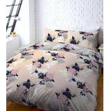 New Look Pink Floral Print Double Duvet Set New Look (Sizes: One size)
