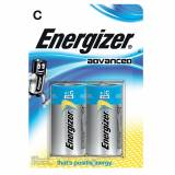 Energizer Advanced C Batteries 2 Pack
