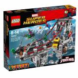 Lego Marvel Super Heroes Web Warriors Bridge