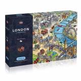 Gibsons puzzles London Landmarks 1000 Piece Puzzle