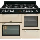 Leisure CK110F232C 110cm Dual Fuel Range Cooker - Cream